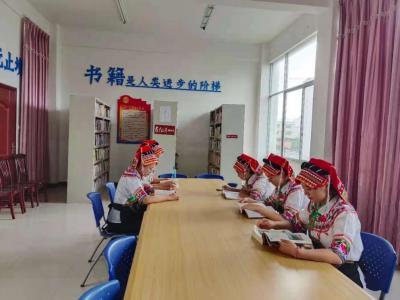 丘北县八道哨彝族乡开展新时代乡村阅读季活动 助力党史学习教育