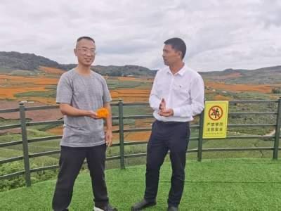 """赵敏建到腻脚乡调研以""""三七""""为重点的中医药产业"""
