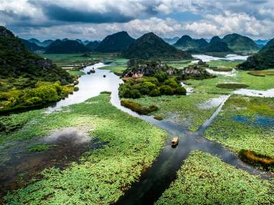 COP15丨丘北生物多样性的大观园——云南普者黑喀斯特国家湿地公园