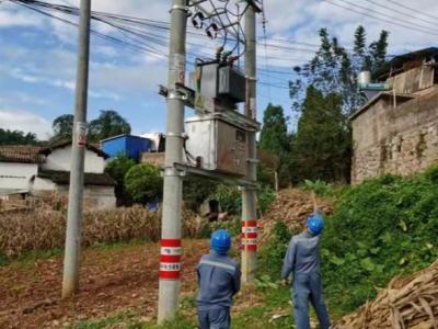 大暴雨天气致丘北境内多条电力线路故障