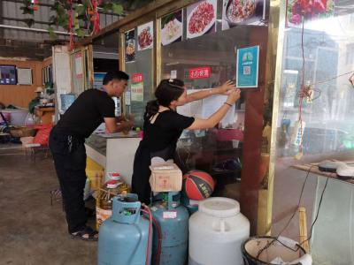 丘北双龙营:新时代文明实践志愿者助力疫情防控工作