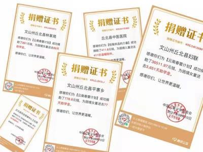 """99公益日丨 丘北县妇联""""双线""""发动助力贫困妇女儿童项目募捐"""