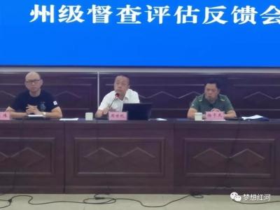 州级督导组到红河县督导评估创建国家级卫生县城工作
