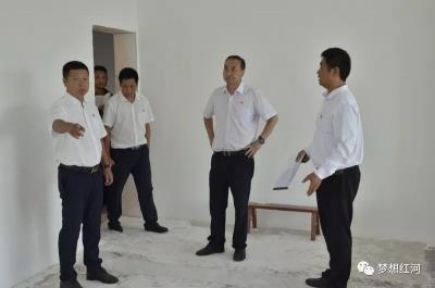 张智俊调研县融媒体中心建设和新建高中选址工作