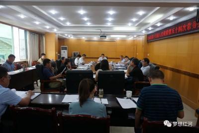 县政府召开第54次常务会议