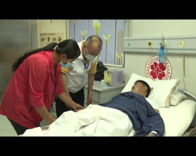 红河县第2例捐献造血干细胞  志愿者成功捐献