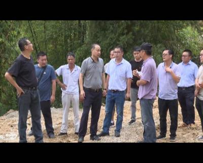 张智俊在调研撒玛坝景区建设时强调  强化责任担当 积极主动作为 努力把  撒玛坝建成高品质旅游景区