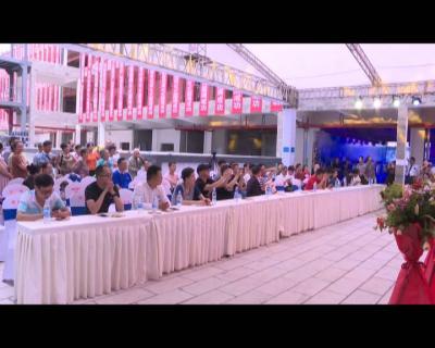 红河县首个单体综合商业步行即将投入运营