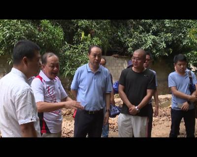 张智俊到迤萨镇专题调研  农村人居环境整治工作