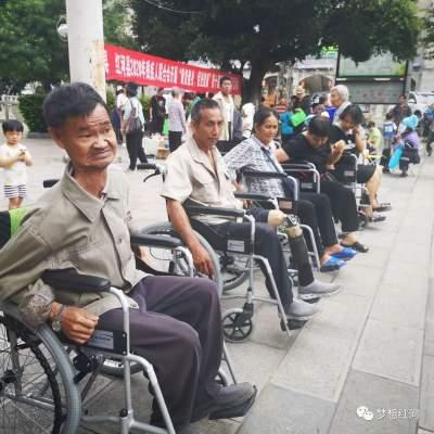 让残疾朋友感受运动快乐!红河县残疾人健身活动有序开展~