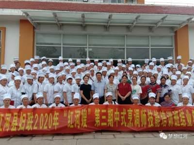 """红河县2020年第三期""""红河嫂""""中式烹调师技能培训班顺利结业"""