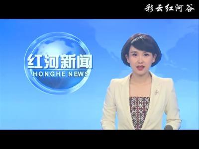 中国水产科学研究院调研组到红河县调研观摩稻渔综合种养产业情况