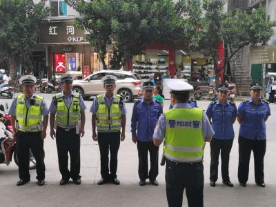 给力!红河县城市管理综合执法局这样整治摩托车交通违法乱象