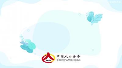 第七次全国人口普查动漫宣传片