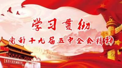 红河县各级各部门深入学习贯彻党的十九届五中全会精神