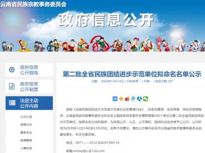 正在公示!第二批云南省民族团结进步示范单位拟命名名单出炉,红河县第一中学榜上有名~