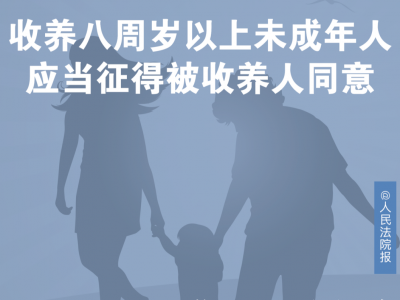 """每日一""""典""""丨收养需要征得被收养人同意吗?"""