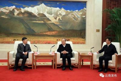 省政府与中国载人航天工程办公室签署战略合作协议 阮成发王予波王兆耀共同见证签约