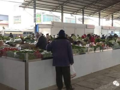 红河县城农贸市场大变样!去看看~~
