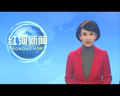 红河县年货市场平稳运行