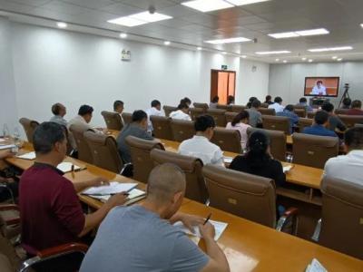 红河县组织参加云南省疫情防控工作视频调度会