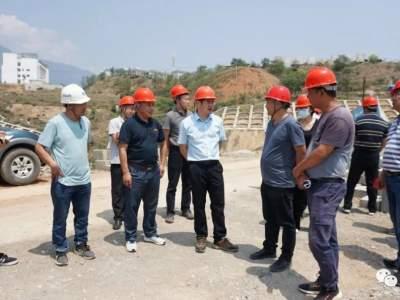 县政府调研组调研红河谷30万亩热区综合保护开发工作