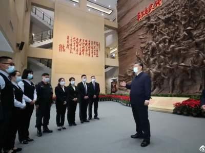 习近平:困难再大,想想红军长征,想想湘江血战