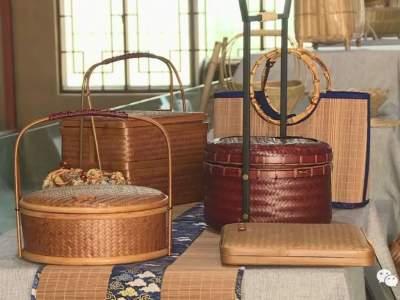 红河县举办竹编艺术展览活动
