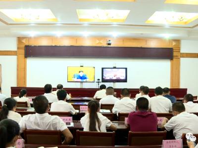 红河县组织参加全州疫情防控工作调度会
