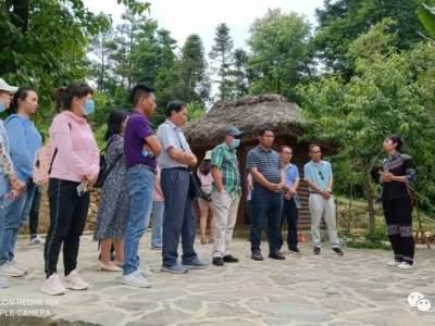 红河县组织考察团赴元阳县考察学习民族团结进步示范创建工作