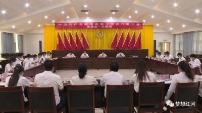 中国共产党红河县第十三次代表大会代表团召开第二次会议