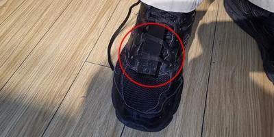 运动鞋暗藏玄机,看到马上报警!