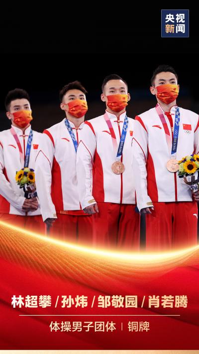 3金3银2铜!中国体操队圆满收官