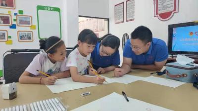 """红河县""""七彩假期"""" 暑期公益课堂招募小学员,快来报名吧!"""