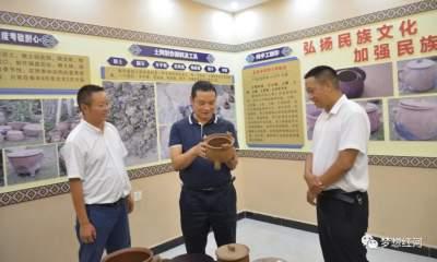 陈勇宏在迤萨镇调研时强调 定位标杆榜样 大力推进乡村振兴战略实施