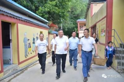 副州长李国民到红河县开展综合调研