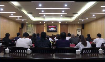 """河口县收听收看中央巡视工作领导小组""""讲师团""""在昆举办的巡视指导督导专题培训会"""