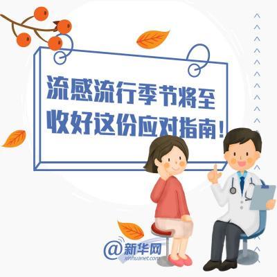 【提醒】流感流行季节,收好这份应对指南!