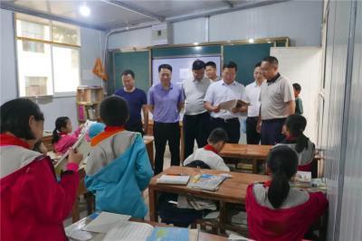 州人大常委会调研组到河口县调研义务教育发展基本均衡工作
