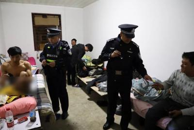 河口县公安机关集中清查整治行动促稳定、保平安