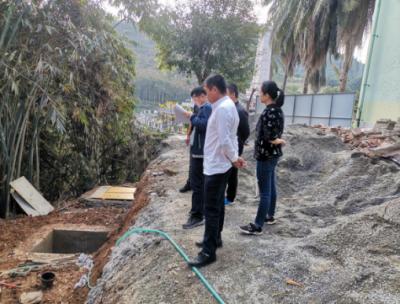 河口县自然资源局开展节前在建项目施工安全督查