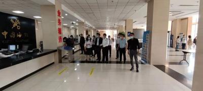 省司法厅边境贸易法治保障调研组到河口县调研
