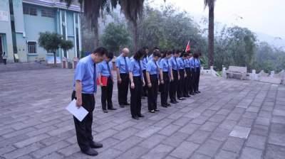 【教育整顿】河口县人民检察院开展祭扫烈士陵园活动