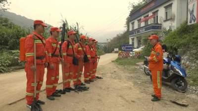 河口县多措并举强化森林防火工作