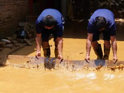 河口:特大暴雨导致部分群众受灾 抢险救援有力 无人员伤亡