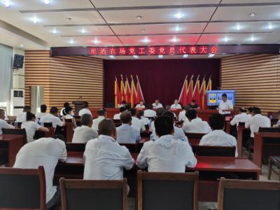 坝洒农场党工委选举出席中共河口县第十三次代表大会代表