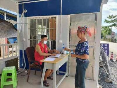 疫情防控|点赞!莲花滩乡的王爷爷和熊奶奶这样参与疫情防控很暖心!