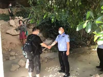 我为群众办实事丨红河边境民警帮助走失女子找到家人