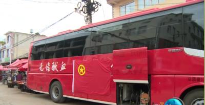 通海九龙街道团工委组织无偿献血活动