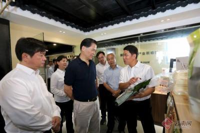 陈豪在红河州调研时强调 深入推进中国最美丽省份建设 更好地满足人民美好生活需要